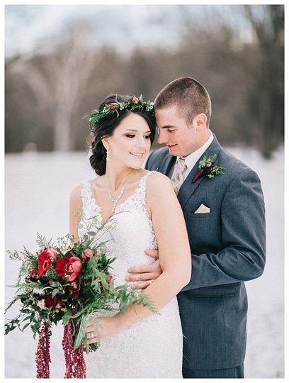 Winter couple portrait - Natasha Nicole Photography