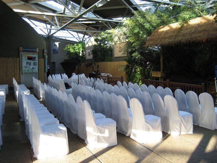 Tropics Atrium Ceremony