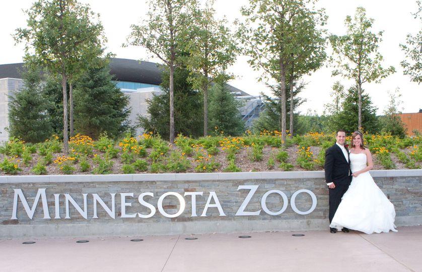 MN Zoo Entrance
