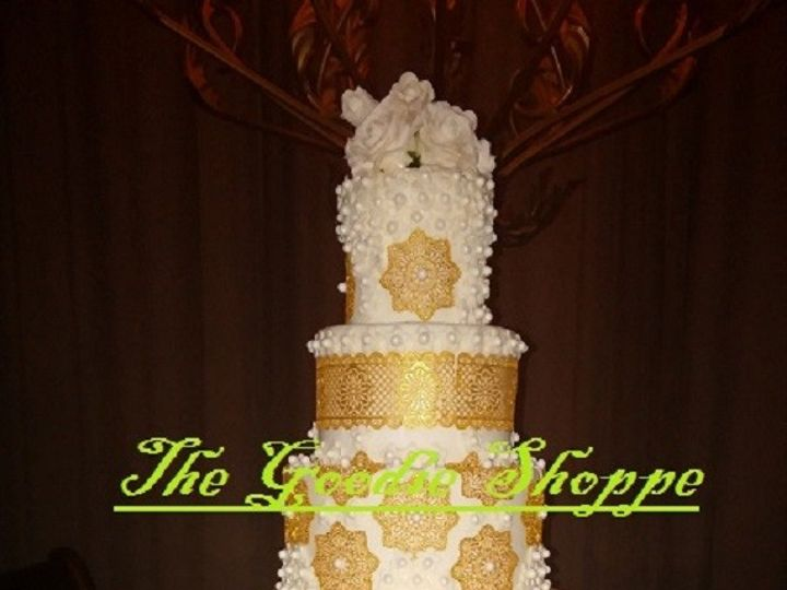 Tmx 1422908951465 09301419410 Riverside wedding cake