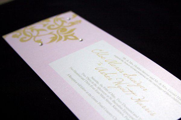 Tmx 1302899161599 ChloeAsher3 Reading wedding invitation
