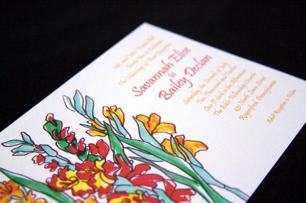 Tmx 1302899290841 SavannahBailey2 Reading wedding invitation
