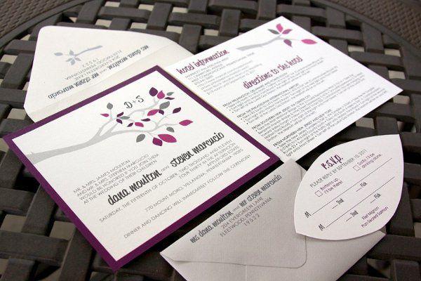 Tmx 1316790906634 DanaStevenWeddingSuiteNEW Reading wedding invitation