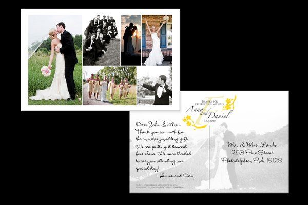 Tmx 1316804738024 AnnaDanPostcardPhoto1200x800 Reading wedding invitation