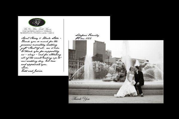 Tmx 1316804967921 ToddandJessThankYouPstcd Reading wedding invitation