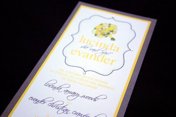 Tmx 1316805395612 Lucindaevander2 Reading wedding invitation