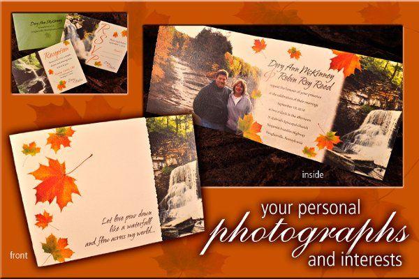 Tmx 1327703588364 DoryInviteFrontInsideframe Reading wedding invitation
