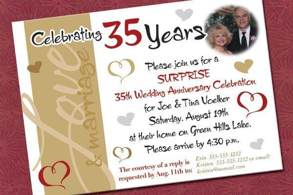 Tmx 1327703597567 Joetina35anniv Reading wedding invitation