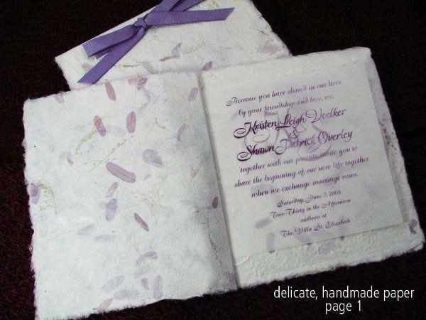Tmx 1327703599474 Kvowedding1 Reading wedding invitation
