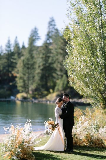 Organic ceremony in Tahoe