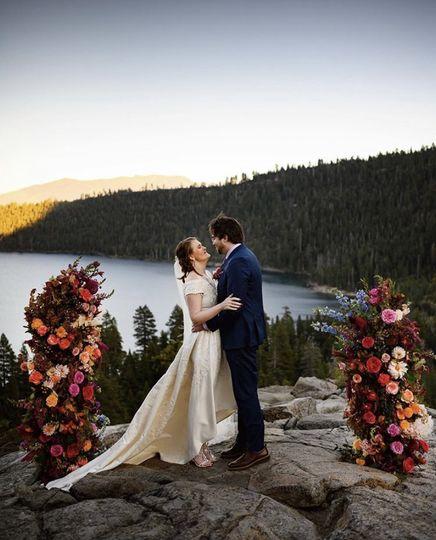 Emerald Bay elopement