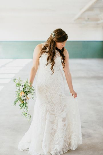 Gorgeous gown for our gorgeous bride, Laura