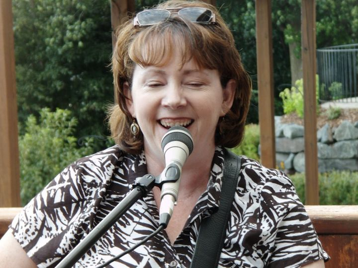 Tmx 1459535149800 Carol At Mic B Squared Indianola, IA wedding officiant