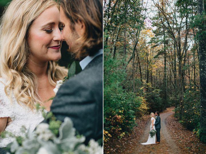 rustic fall mountain wedding photography georgia 4