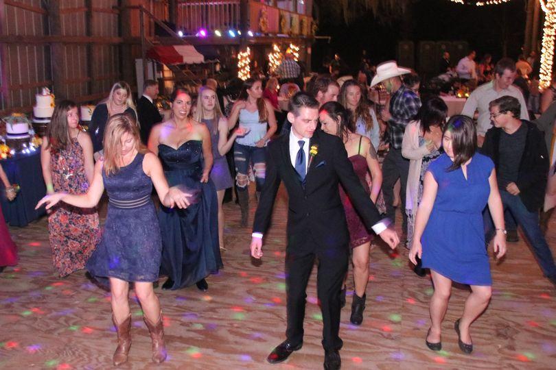 A full dancefloor