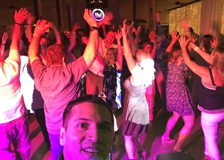 Dance floor celebrations