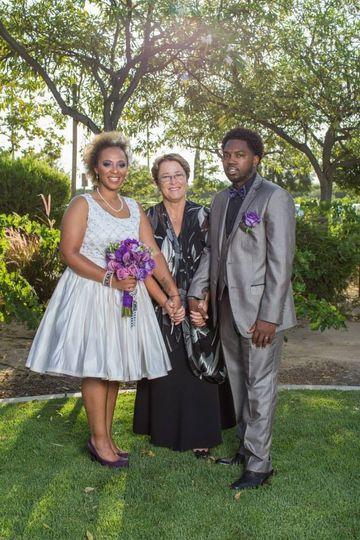 Post-ceremony photo