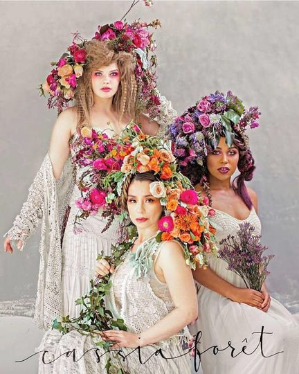 The floral ladies