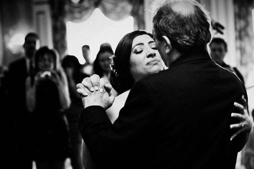 A moment of parent dance