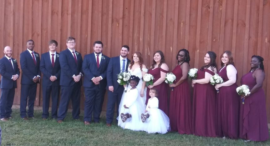 Roberts/Caillier Wedding 2020