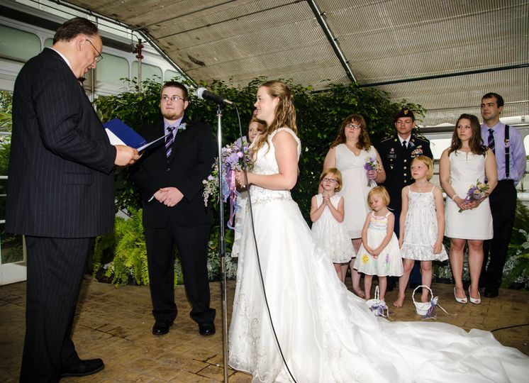 If it's lucky to have rain on your wedding day,  Kelly and Brendan were surely blessed.  Jim...
