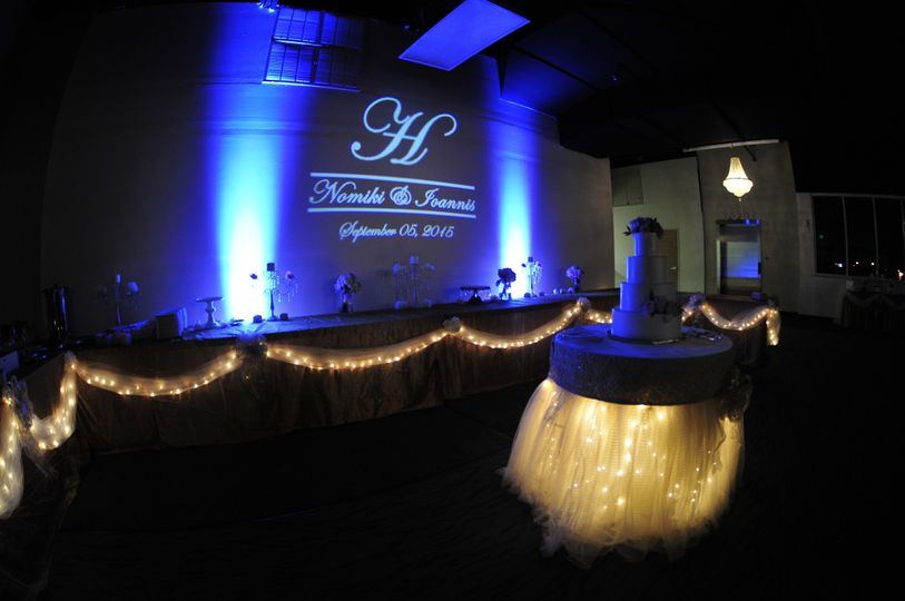 Grand ballroom can employ custom lighting and screen displays to achieve the ambiance and overall...
