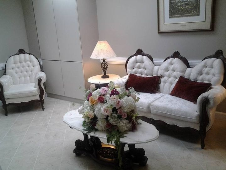Private suite and restroom for brides, their bridal party and for other event sponsors who want...
