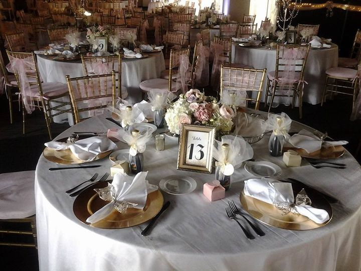 Tmx 1480518220354 Pink  Gold Decor Package Baltimore, MD wedding venue