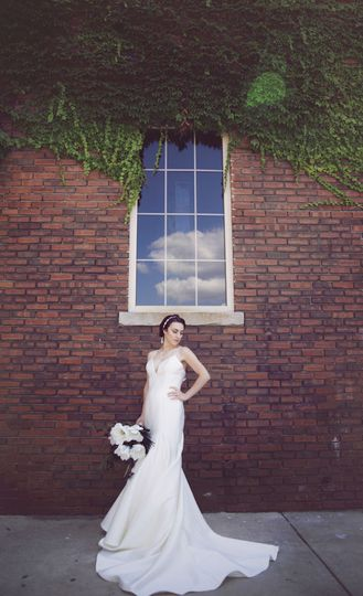 Bride by the window