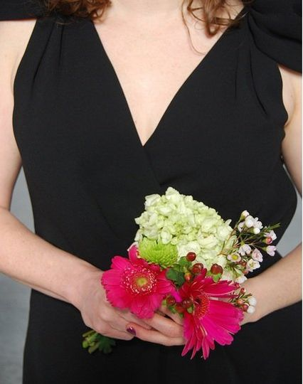 Black is in for weddings this season. Check out this lovely Ann Taylor bridesmaids dress featuring a...