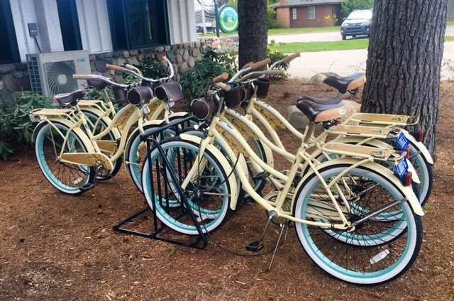 Bicycles for hotel guests