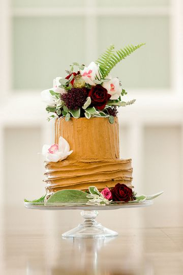 Wedding cake | K. Lenox Photography
