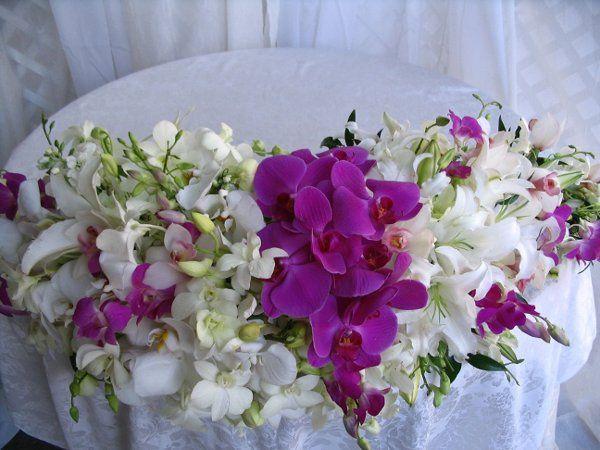 Orchids table decor