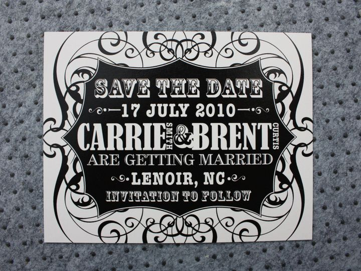 Tmx 1419810587412 Img3198 Cary wedding invitation