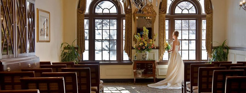 Wedding In The Parlor Room