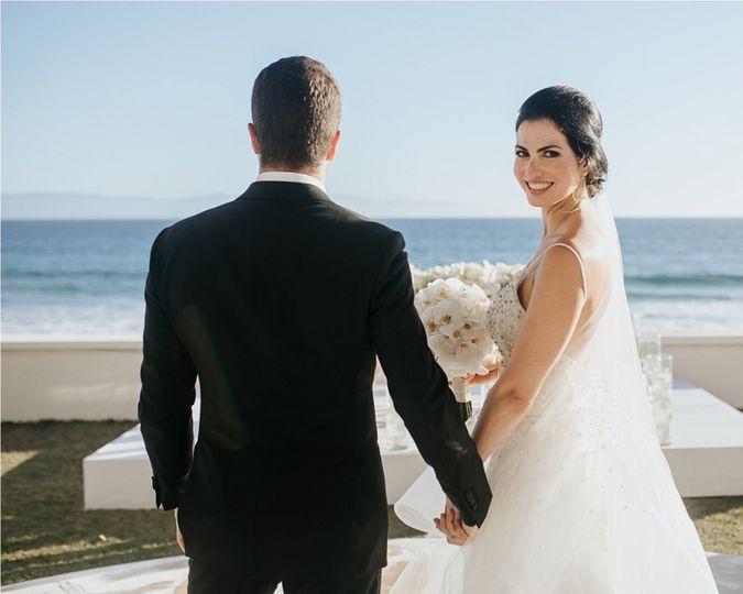 Classy bridal look