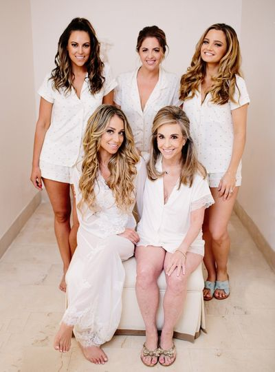 Stunning bridal team