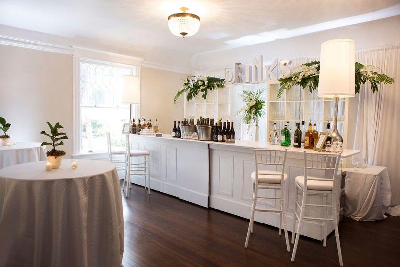 The Orlo House & Ballroom cocktail bar