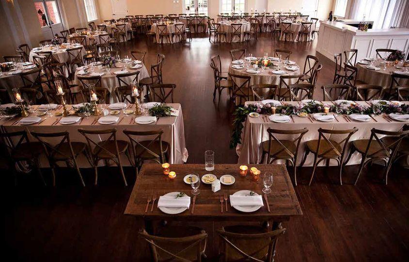 Fine dining area