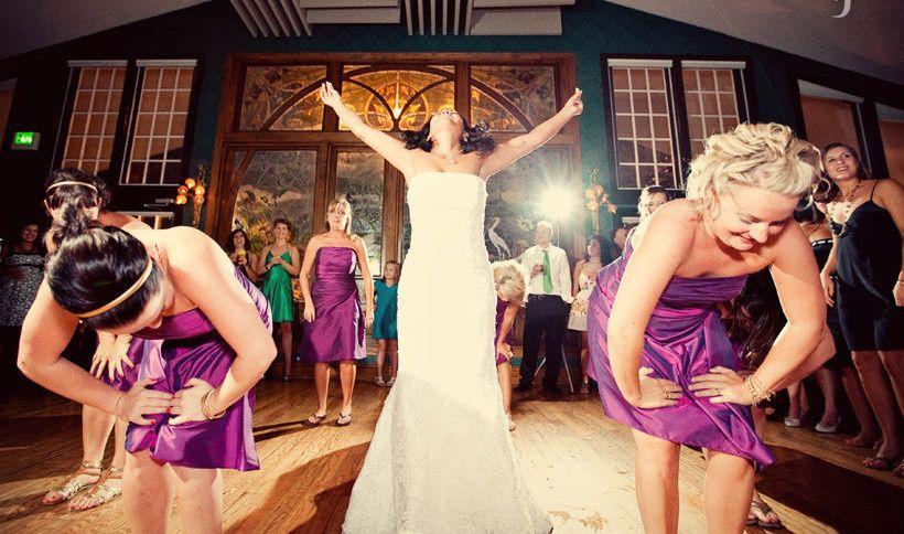 Bride's dance number