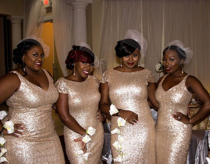 joy bridal party
