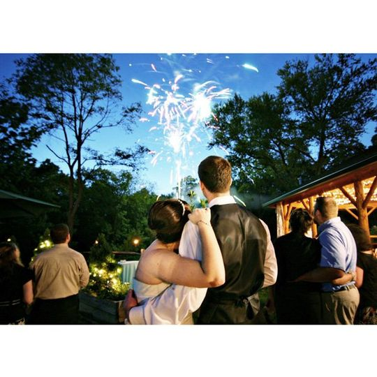 Sarah & Bentz Fireworks at Riverdale Manor Lancaster, Pa.