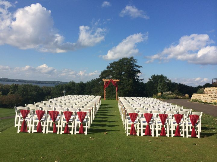 Course wedding site