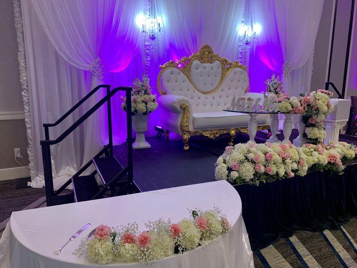 Sweetheart Table on Riser