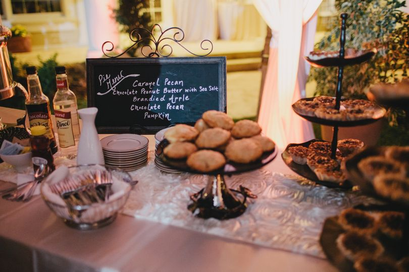 Pastry bar | Credit:  Studio 222 Photography
