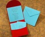 Popular, Pocket Invitation
