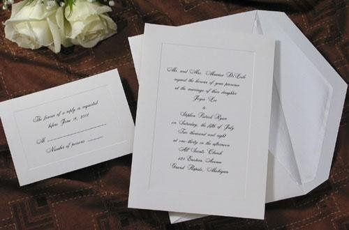 Simple and Elegant Invitation