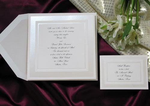 Tmx 1234914254078 PearlBorderEmbossingInvitation Aberdeen wedding invitation
