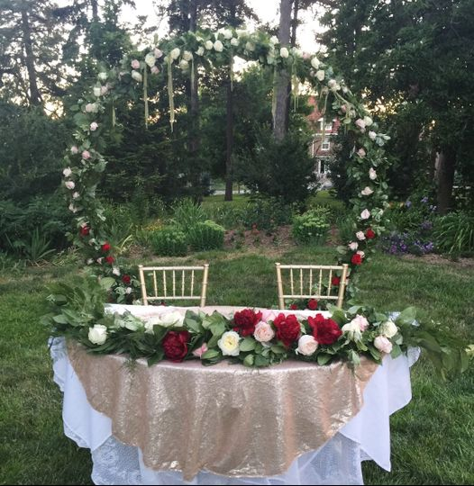 Outdoor Wedding Ceremony Omaha Ne: Uptown Event Rentals