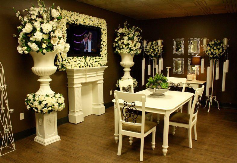 Martina's wedding consultation room Image Copyright: McCarthy Group Florists 2016